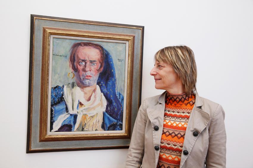 Kuratorin: Charlotte Berend Corinth, Max Pallenberg 1917