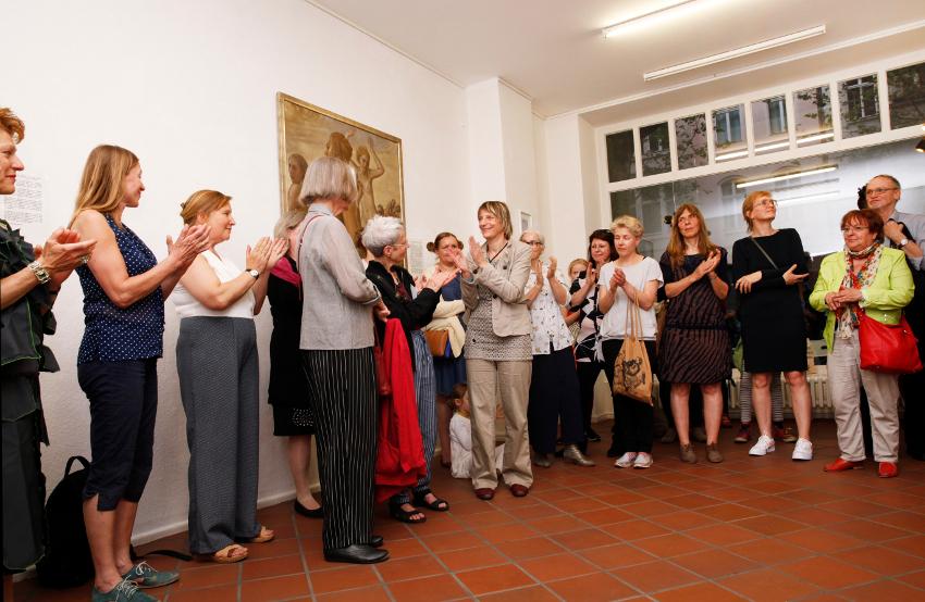 """Kuratorin: """"Was der Himmel erlaubt"""" mit allen Künstlerinnen, GEDOK-Berlin"""