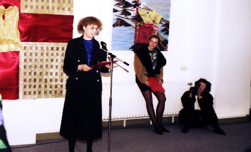 """Projektleiterin """"125 Jahre VdBK"""", 1990"""